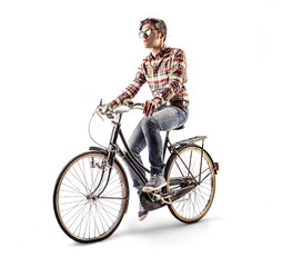 cycling man