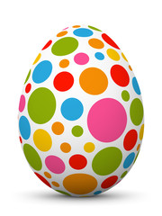 Osterei, Ei, Ostern, Muster, Punkte, Easter Egg, Pattern, Design