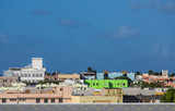 Green Building in Colorful San Juan Cityscape
