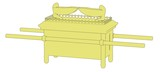 cartoon image of ark of covenant