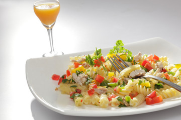 Pasta is a generic term for italian variants of noodles