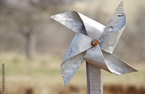 Pinwheel from sheet
