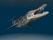canvas print picture - Liopleurodon