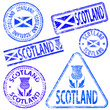 Scotland Rubber Stamps