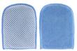 Bath and Tile Mitt with microfiber cleaning cloth