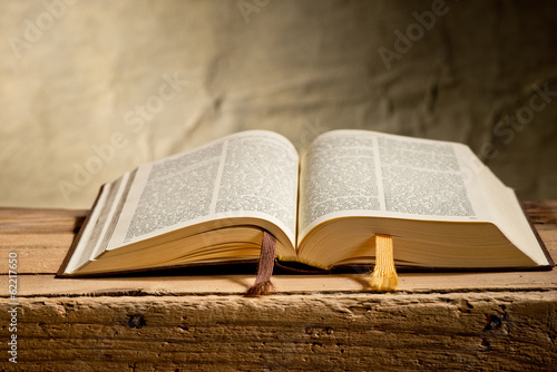 Leinwanddruck Bild Bible