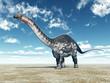 Leinwanddruck Bild - Dinosaur Apatosaurus