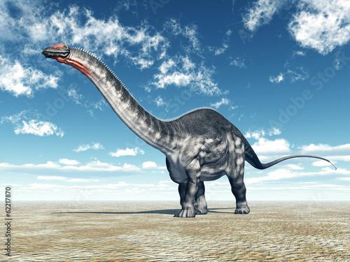 Leinwanddruck Bild Dinosaur Apatosaurus