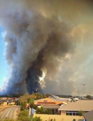 Bushfire Emergency. Perth February 2014