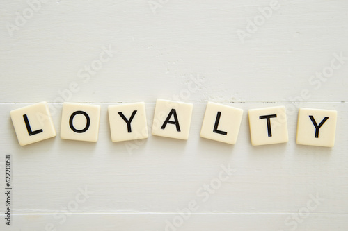 LOYALTY word