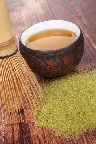 Traditional tea ceremony.