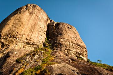 Beautiful Shape Rock Pedra da Gavea in Rio de Janeiro, Brazil
