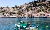 Greece. Symi. Boat.