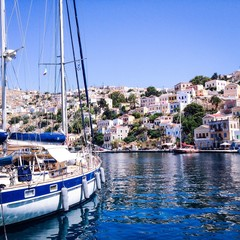 Greece. Symi. Boat.