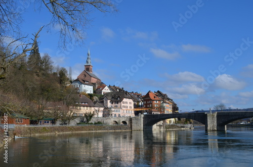 canvas print picture Ansicht Laufenburg Baden