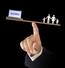 Games and family