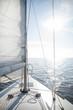 obraz - Yacht sailing towa...