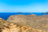 Gramvousa island near Crete, Greece. Balos beach