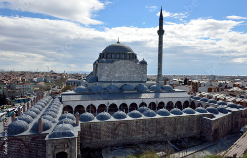 Mosque of Suleiman the Magnificent commissioned