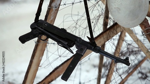 MP40 German submachine gun