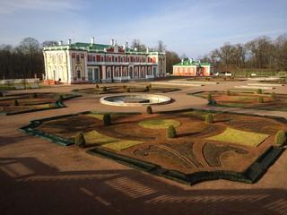 Kadriorg palace gardens in Tallinn