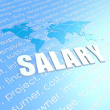 Salary world map