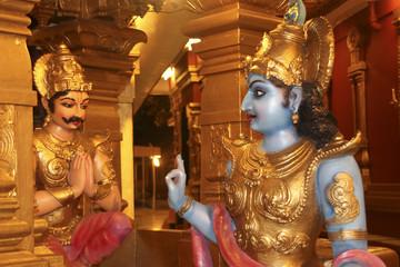 Lord Krishna's Sermon