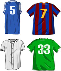 Sports Shirts Pack