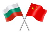 Flags: Bulgaria and China