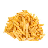 a pile of french fries or potato fries
