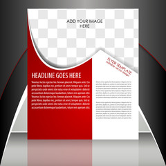 Professional business flyer temlate or corporate banner