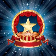starburst circle stage