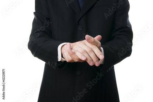 Gesture of businessman