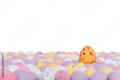 Easter eggs rising