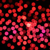 Red bokeh compostion
