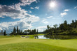 Golf Course in the Sun - 62232076