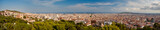 Graet panoramic view of Barcelona