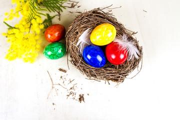 Uova nel nido