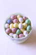Pastel chocolate candy