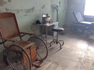 Hospital ward in the prison of Alcatraz