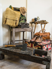 Vintage male clothing