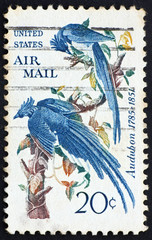 Postage stamp USA 1967 Columbia Jays
