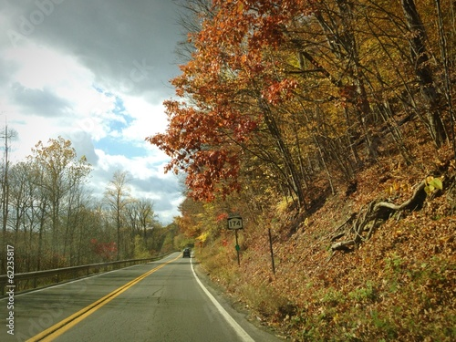 Fall Drive in New York