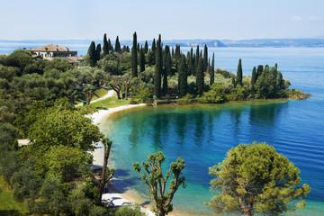 Garda lake resort in Italy
