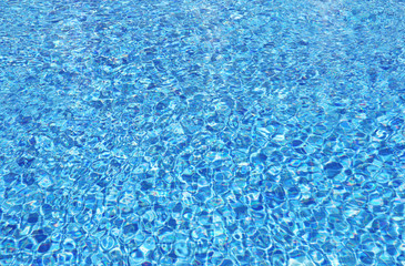 Pool blue water background