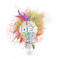 art idea concept