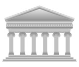 Ionic Greek temple