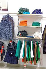 Woman clothes shop