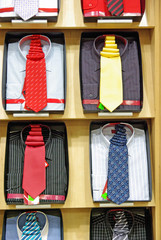 Necktie and shirts