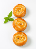Apple Custard Pinwheels